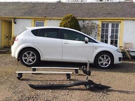 SEAT Leon 1.6 TDI Ecomotive CR SE Copa 5dr 2012 £0 TAX roof bars & bike rack