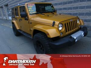 2014 Jeep Wrangler SAHARA/4DOOR/4X4