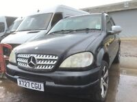 Mercedes Benz ml270 automatic leather seats alloy wheels breaking