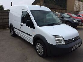 Ford transit connect t220 Lwb high roof 1.8tdci 57 reg 97000 miles