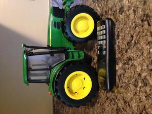 John Deere toys and little people farm