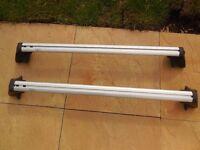Mercedes roof rack bars