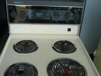 Frigidaire Elite Self Cleaning Stove