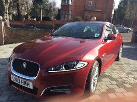 Jaguar XF in great condition, with one previous female owner