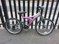 Mangna girls Bike with 24 inch wheel