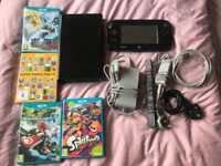 Nintendo Wii U Good Condition and 4 Games