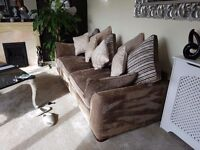 Beautiful 3 & 4 seater sofa's for sale