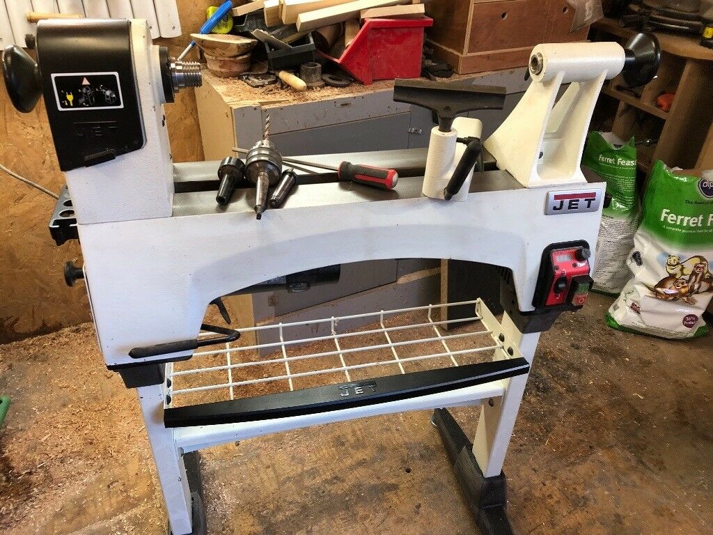 Jet wood turning lathe plus accessories   in York, North Yorkshire   Gumtree