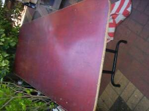 Heavy Duty Industrial Large Vintage Trestle Table Murrumbeena Glen Eira Area Preview