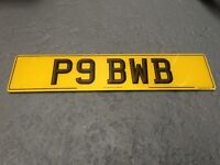 private number plate for sale...