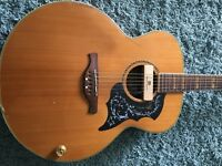 Crafter J15 electro acoustic like J200. Korean with vintage tone