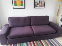 Kivik 3-seater sofa bed in very good condition