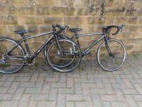 Two Dawes Academy Road Bikes 650c