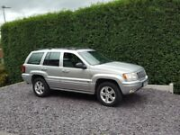 JEEP GRAND CHEROKEE 2.7CRD OVERLAND, SILVER, FSH, CLEAN 4X4 **PX WELCOME**