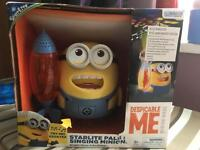 Minions Night Light Projector, with soothing melodies