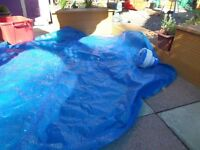 Pool cover with extras