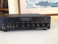 Mesa boogie D800 Subway. Bass head