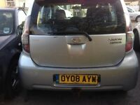 Diahatsu Sirion 1.5SX,silver ious small car, alloys , air con, electric windows,FSH.