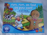 Run Run as Fast as you can board game from ORCHARD TOYS