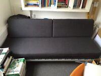 IKEA SLATE GREY SOFA, FUTON FOR SALE - NEVER USED