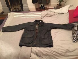 Barbour jacket - Mens Medium (Dark grey)