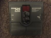 Zoom 505 guitar pedal, multi effects.