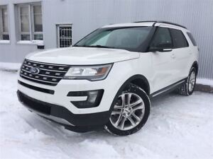 2016 Ford Explorer XLT, 4X4, SUNROOF, LEATHER, NAV, BACKUP CAM.