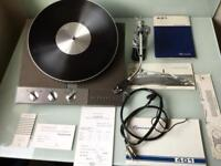 Garrard 401 Turntable with SME 3009 Turntable a classic combination