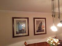 Set of 2 William Matthews Framed Prints
