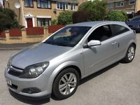 Vauxhall Astra car 2007 model 3 door silver 12 months mot coupe nice car drives great