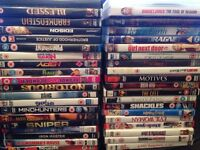 90 DVD's up for grabs Car boot/ job lot/ Resale/