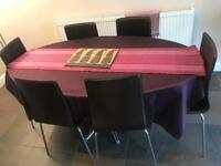 Dinning Table & 6 Chairs - Excellent Condition - bought from Dwell