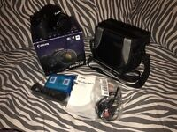 CANON Powershot SX530 HS CAMERA with camera bag (FREE DELIVERY)