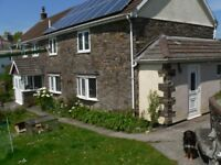Fully furnished, selfcontained 1 bedroom flat on smallholding near Barnstaple