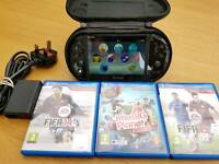 PS Vita 3 games and accessories