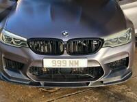Bmw m5 f90 3d style front splitter lip carbon fibre