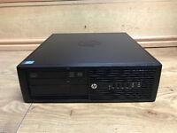 HP Compaq Pro 4300 SFF Core i3-3220 3.30GHz 4GB Ram 500GB HDD Win10 Pro 64 PC