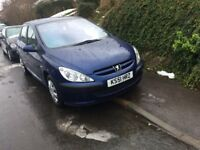 Peugeot 307 1.6 automatic only 16000 mileage
