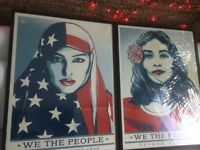 WE THE PEOPLE ANTI TRUMP OFFICIAL CAMPAIGN POSTER BRAND NEW