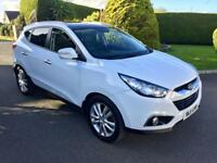HYUNDAI IX35 2.0 DIESEL, 2011, HALF LEATHER SEATED SEATS **DRIVE THIS AWAY TODAY FROM £45 PER WEEK**