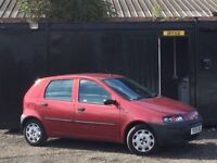 ★ FIAT PUNTO 1.2L 5 DOOR + BARGAIN + CHEAP RUNABOUT++P/X TO CLEAR ★
