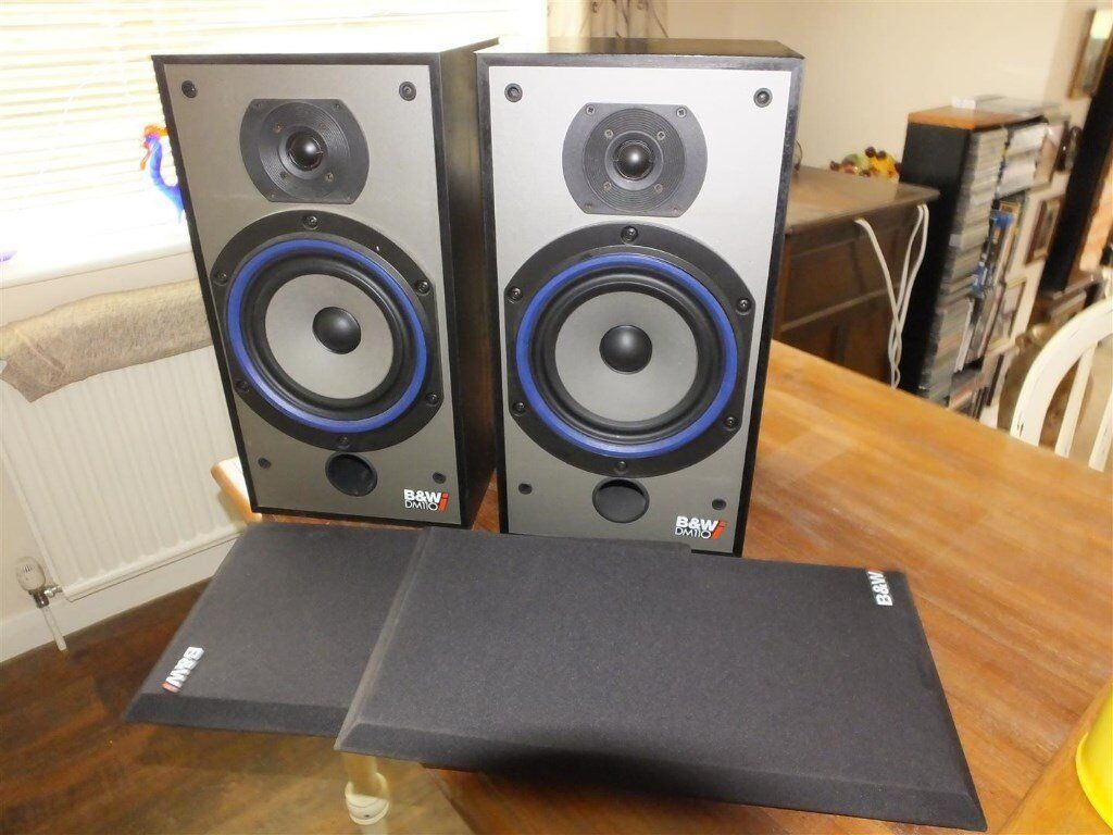 A Pair of B&W model 110i Speakers. Very good condition