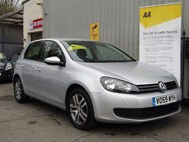 Volkswagen Golf 2.0 TDI CR SE 5dr, 1 Owner + Fsh+ Parking Aid F/R