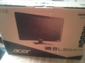 Acer 24'' LCD monitor - boxed