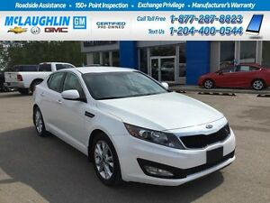 2012 Kia Optima Sedan Auto EX Leather *Heated seats *Push button