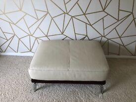 Dfs Valdez leather sofa