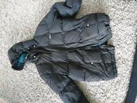 Lacoste winter coat size small/medium