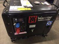 6.5 KVA Silenced Generator