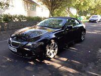 2005 BMW 645 CI CONVERTIBLE,AUTO,BLACK,QUICK SALE,07872346777