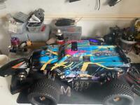 1/8 brushless monster truck